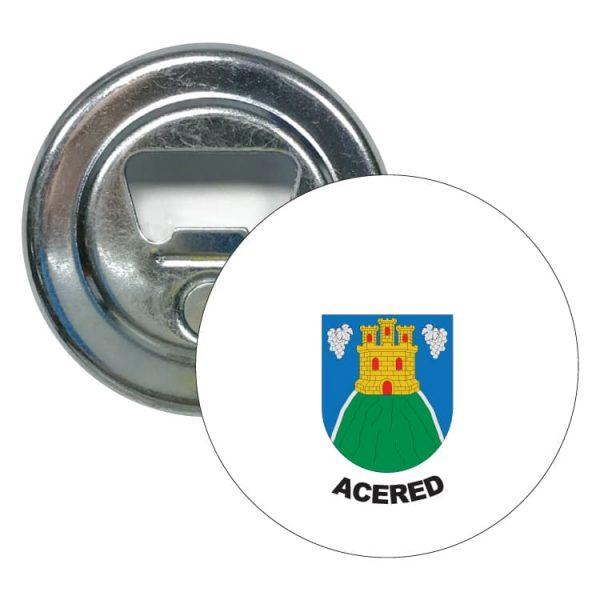 1538 abridor redondo escudo heraldico acered