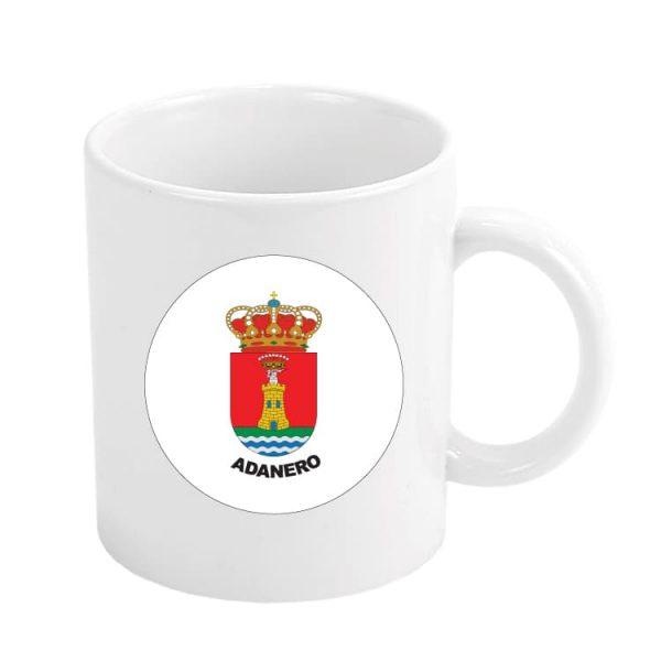 1539 taza escudo heraldico adanero