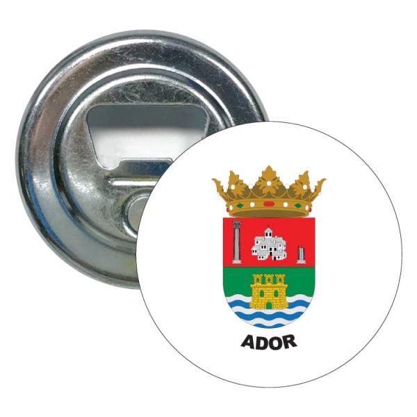 1540 abridor redondo escudo heraldico ador