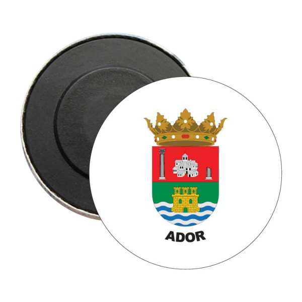 1540 iman redondo escudo heraldico ador