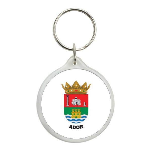 1540 llavero redondo escudo heraldico ador
