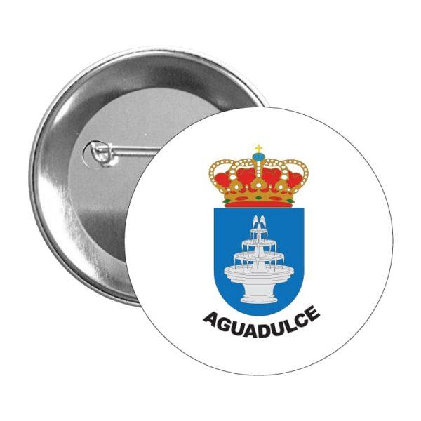 1542 chapa escudo heraldico aguadulce