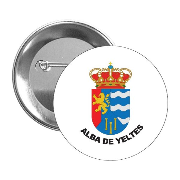 1545 chapa escudo heraldico alba de yeltes