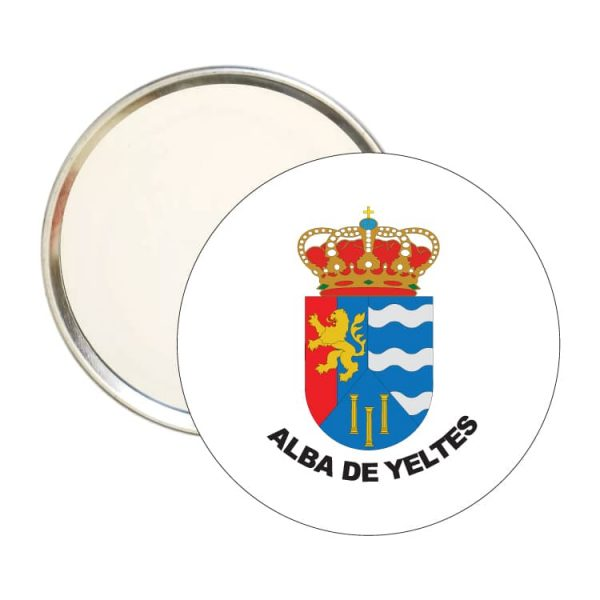 1545 espejo redondo escudo heraldico alba de yeltes