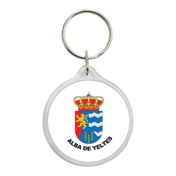 1545 llavero redondo escudo heraldico alba de yeltes