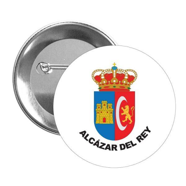 1547 chapa escudo heraldico alcazar del rey