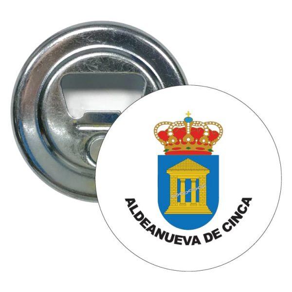 1548 abridor redondo escudo heraldico aldeanueva de cinca
