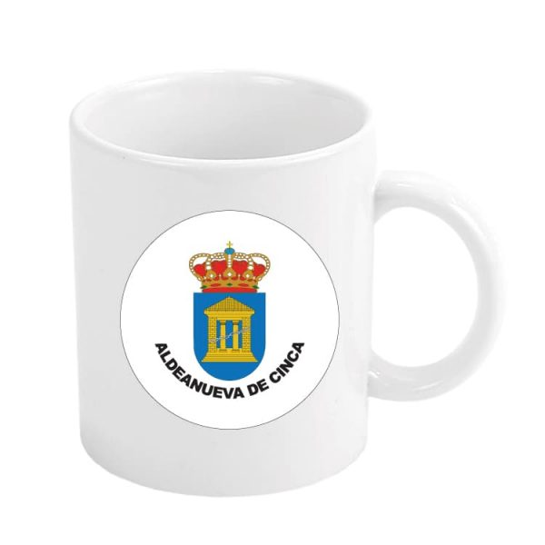 1548 taza escudo heraldico aldeanueva de cinca