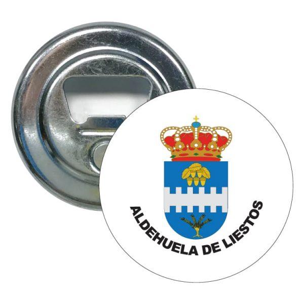 1549 abridor redondo escudo heraldico aldehuela de liestos