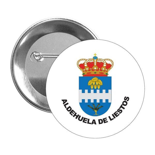 1549 chapa escudo heraldico aldehuela de liestos