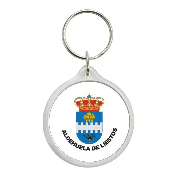 1549 llavero redondo escudo heraldico aldehuela de liestos