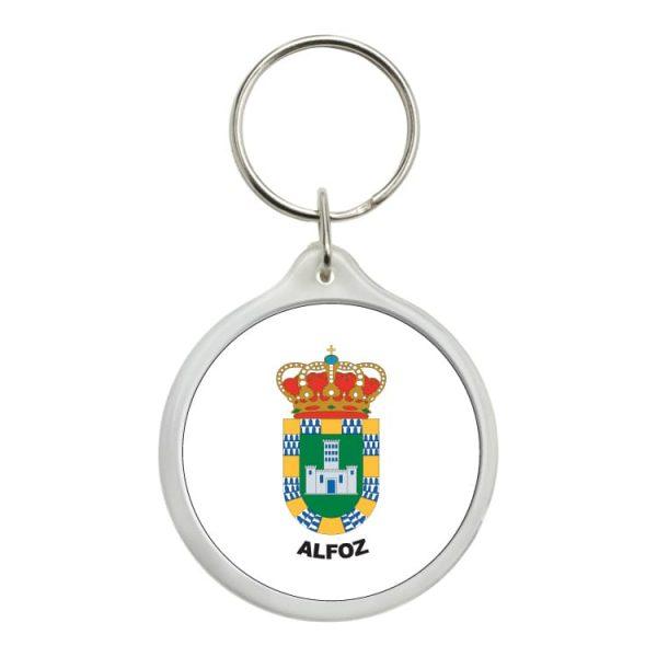 1550 llavero redondo escudo heraldico alfoz