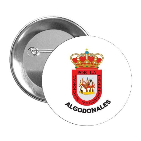 1551 chapa escudo heraldico algodonales