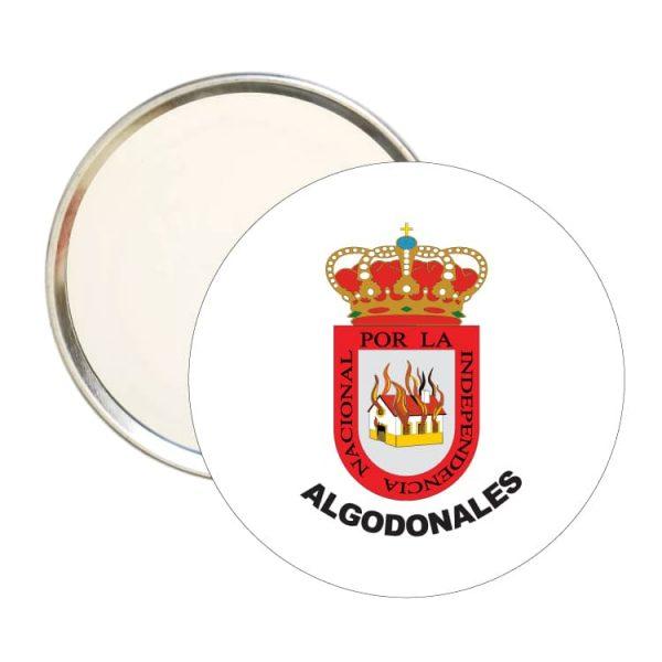 1551 espejo redondo escudo heraldico algodonales