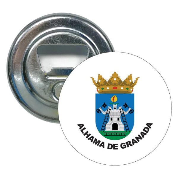 1552 abridor redondo escudo heraldico alhama de granada