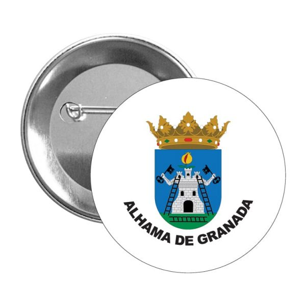 1552 chapa escudo heraldico alhama de granada