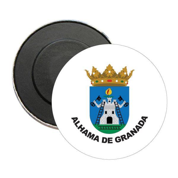 1552 iman redondo escudo heraldico alhama de granada