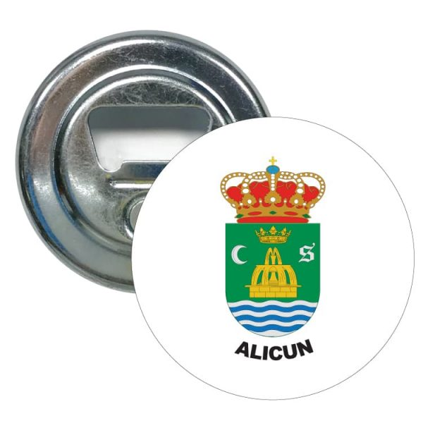 1553 abridor redondo escudo heraldico alicun