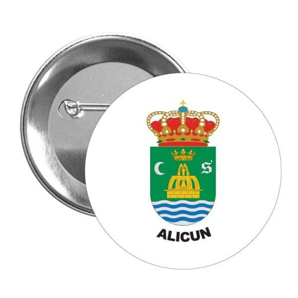 1553 chapa escudo heraldico alicun