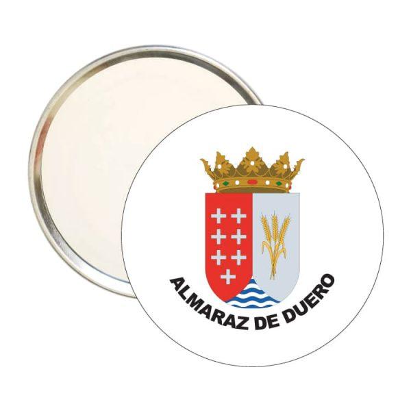 1554 espejo redondo escudo heraldico almaraz de duero