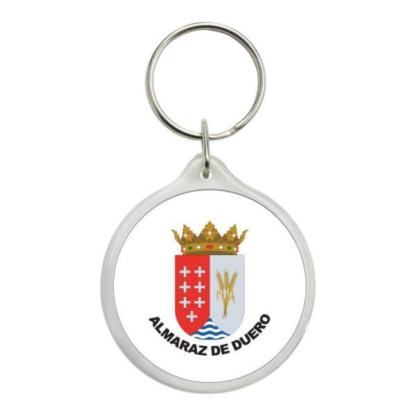 1554 llavero redondo escudo heraldico almaraz de duero