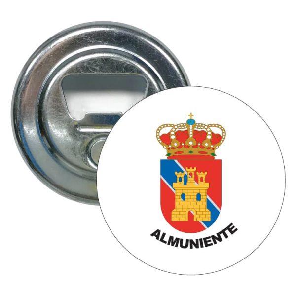 1555 abridor redondo escudo heraldico almuniente