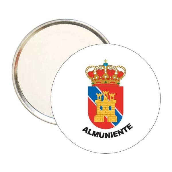 1555 espejo redondo escudo heraldico almuniente