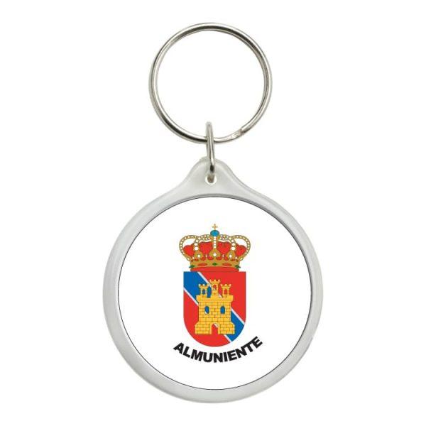 1555 llavero redondo escudo heraldico almuniente