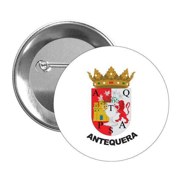 1556 chapa escudo heraldico antequera