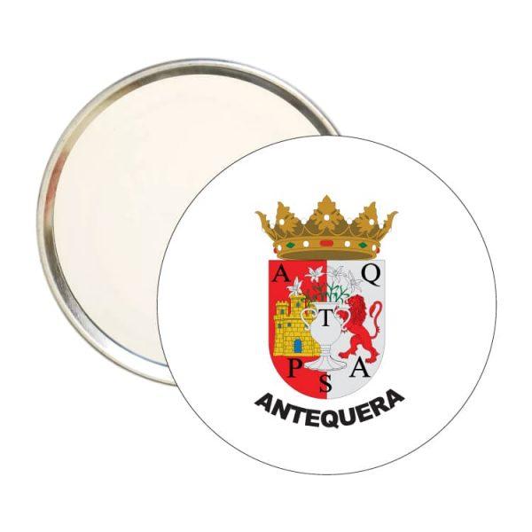1556 espejo redondo escudo heraldico antequera
