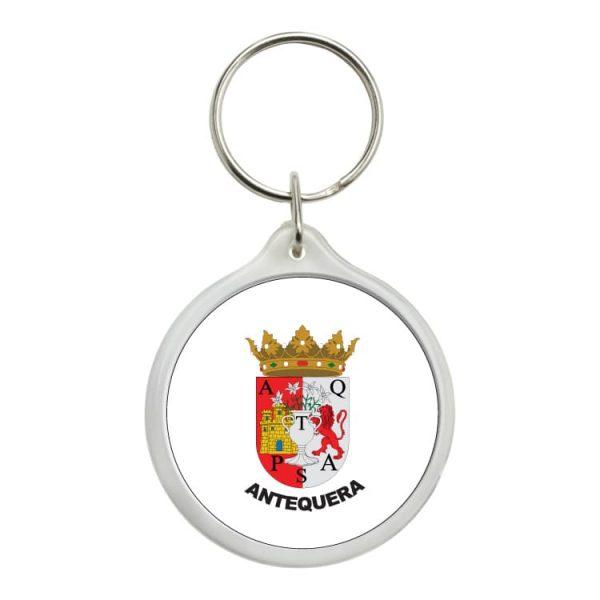 1556 llavero redondo escudo heraldico antequera