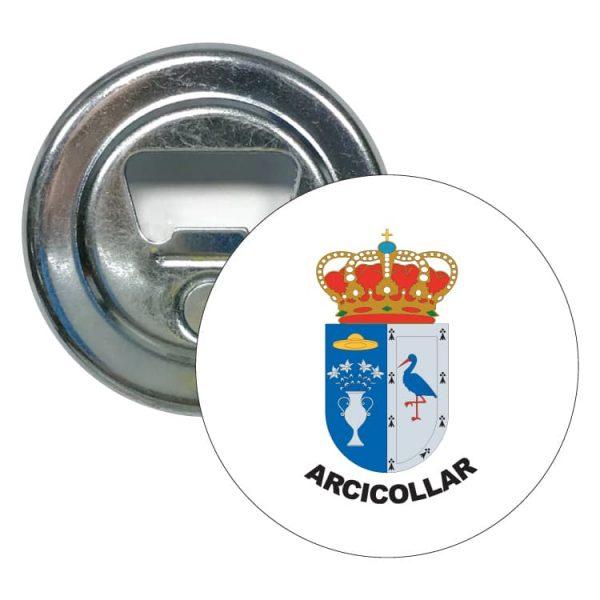 1557 abridor redondo escudo heraldico arcicollar