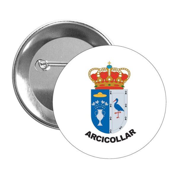 1557 chapa escudo heraldico arcicollar