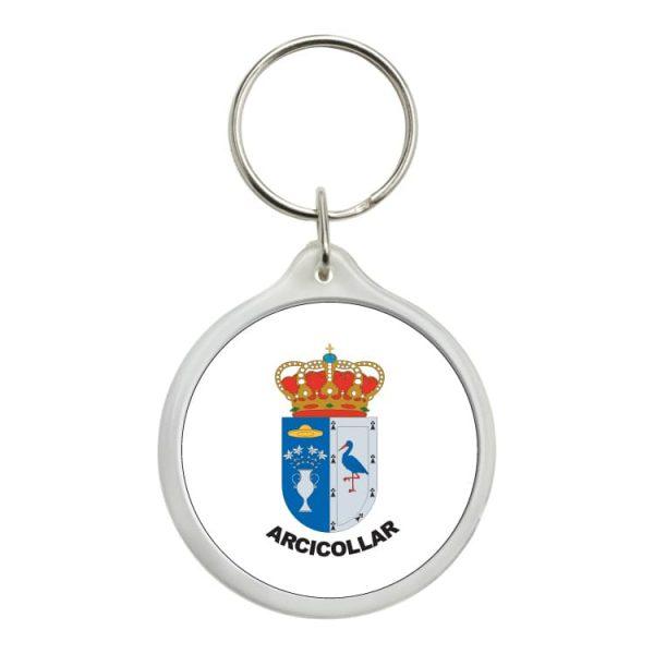 1557 llavero redondo escudo heraldico arcicollar