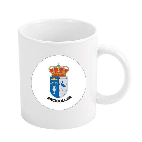 1557 taza escudo heraldico arcicollar