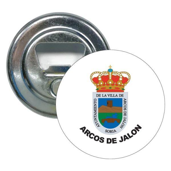 1558 abridor redondo escudo heraldico arcos de jalon