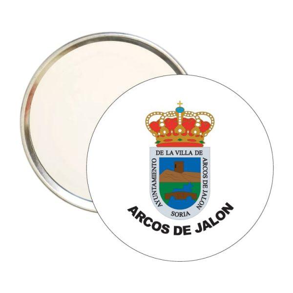 1558 espejo redondo escudo heraldico arcos de jalon