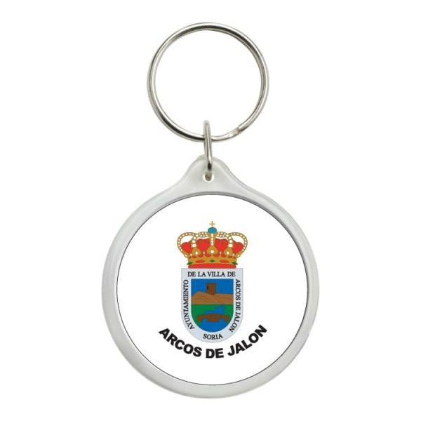 1558 llavero redondo escudo heraldico arcos de jalon