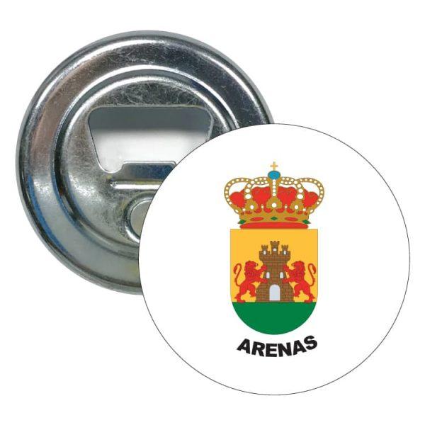 1559 abridor redondo escudo heraldico arenas