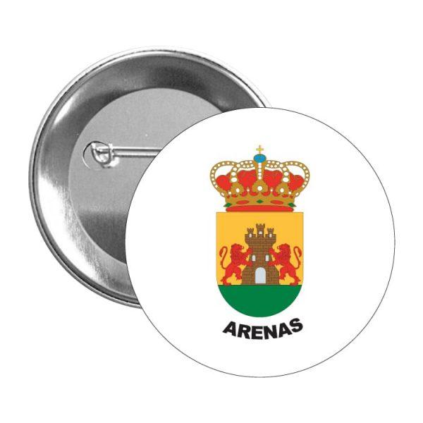 1559 chapa escudo heraldico arenas