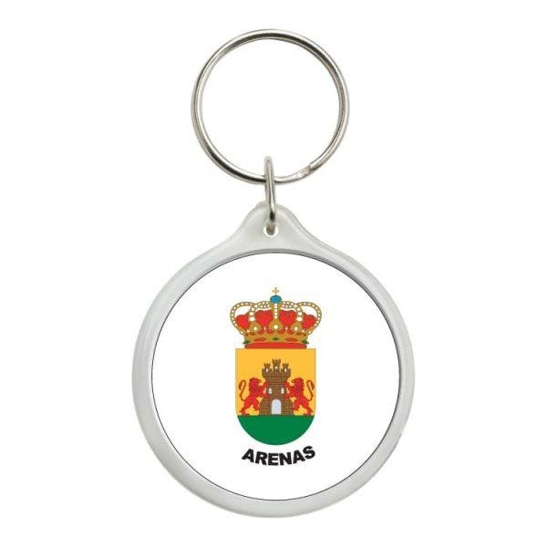 1559 llavero redondo escudo heraldico arenas