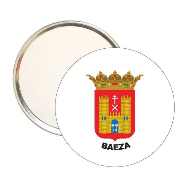 1561 espejo redondo escudo heraldico baeza