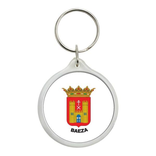 1561 llavero redondo escudo heraldico baeza