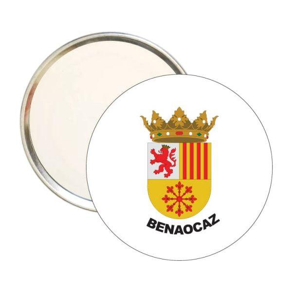 1562 espejo redondo escudo heraldico benaocaz
