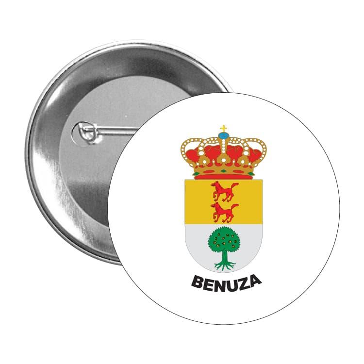 1563 chapa escudo heraldico benuza