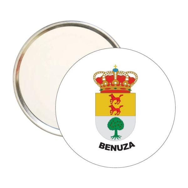 1563 espejo redondo escudo heraldico benuza