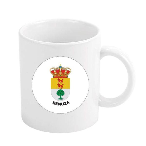 1563 taza escudo heraldico benuza