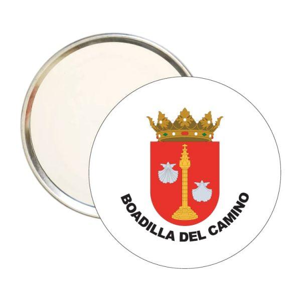 1564 espejo redondo escudo heraldico boadilla del camino