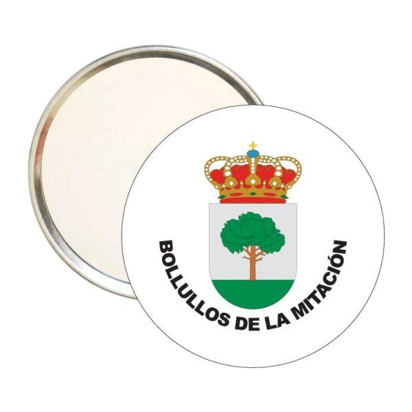 1565 espejo redondo escudo heraldico bollullos de la mitacion