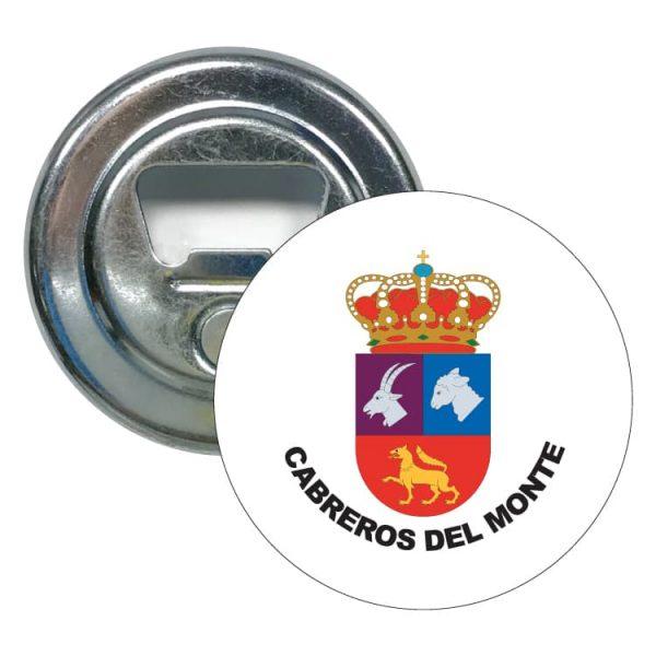 1567 abridor redondo escudo heraldico cabreros del monte